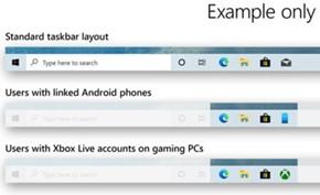 微软在Windows 10 Dev Build 20161版中改进任务栏支持不同的简化模式