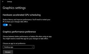 显卡制造商初步支持Win10硬件加速GPU调度 可提高中低端显卡整体性能