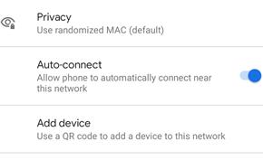 Android 11新增无线网络连接安全策略 可以不自动连接某些特定WiFi