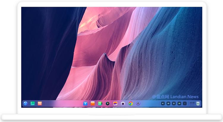 深度操作系统(Deepin Linux)展示平板概念图 疑似已适配支持触控平板电脑