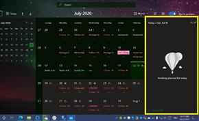 微软向Windows 10 Dev用户推送新版日历 现在查看事件会更方便