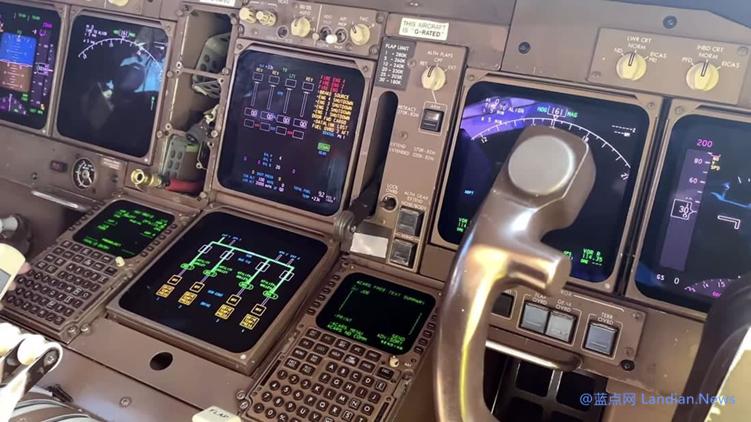 波音747仍然使用3.5寸软盘更新数据 可怜的工程师们每次要使用8张软盘