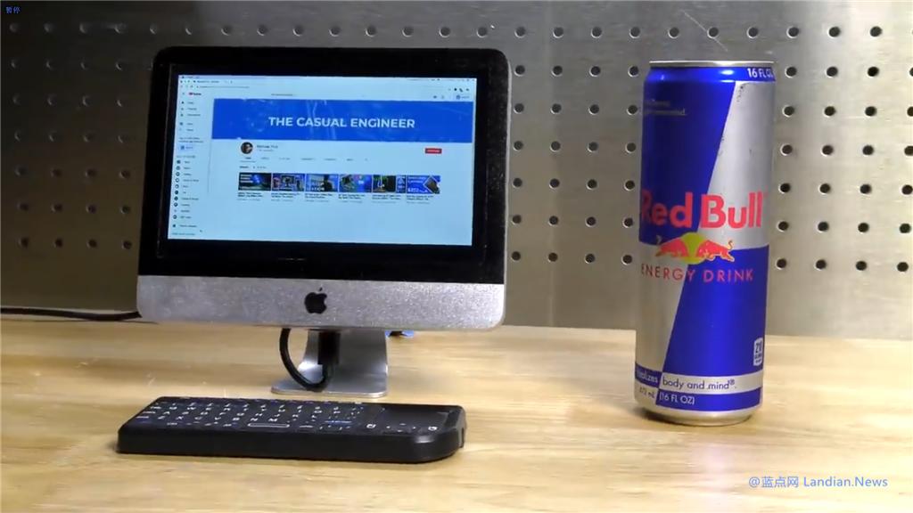 国外工程师用树莓派打造迷你版iMac 屏幕仅7英寸但可以正常使用