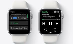 Spotify开始测试在Apple Watch上提供在线音乐 而不是充当遥控器角色