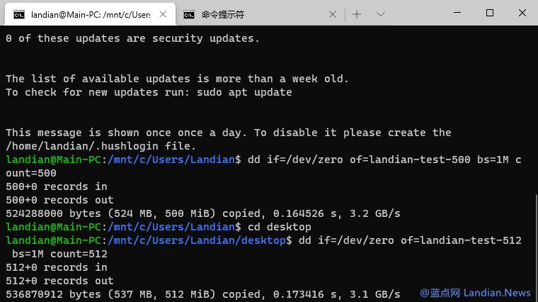 [技巧] 在Windows 10上利用命令提示符或WSL创建任意大小的空文件