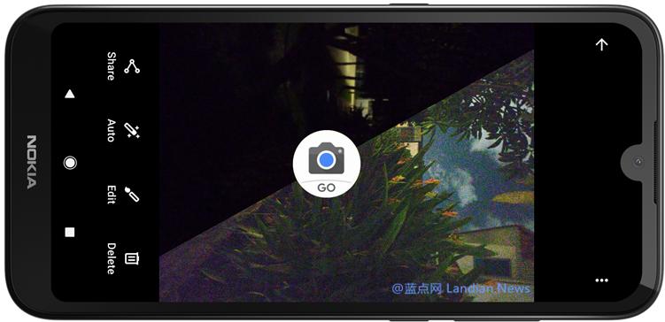 谷歌相机GO版发布更新支持Android Go系列设备使用夜间模式进行拍摄