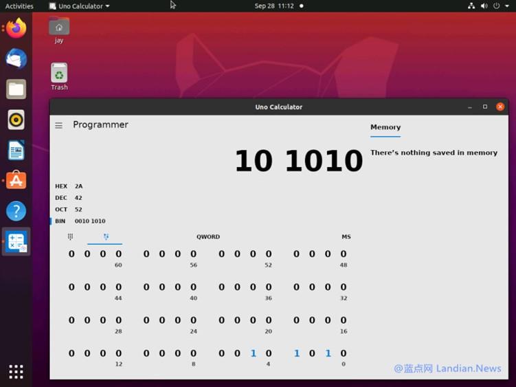 微软开源的计算器应用现在已经借助UNO平台成功移植到Linux系统