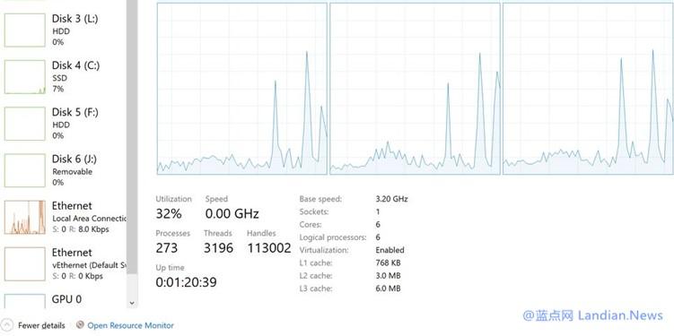CPU频率显示为0.00GHz?别担心微软已经发布累积更新修复这个BUG