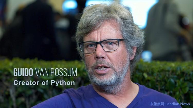 编程语言Python的创始人现已加盟微软公司 但尚不清楚具体职务和工作