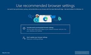 微软开始利用全屏弹窗方式引导用户安装使用Microsoft Edge浏览器