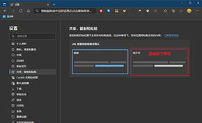 新版Microsoft Edge粘贴链接出现错误?你需要在设置里关闭这个选项