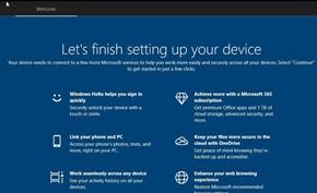 微软开始向所有用户推出Windows 10设置应用顶部的启动器(广告栏)