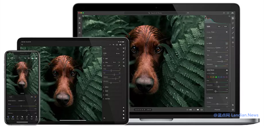 Adobe Lightroom现已基于ARM64和M1开发原生版 可以发挥最佳性能