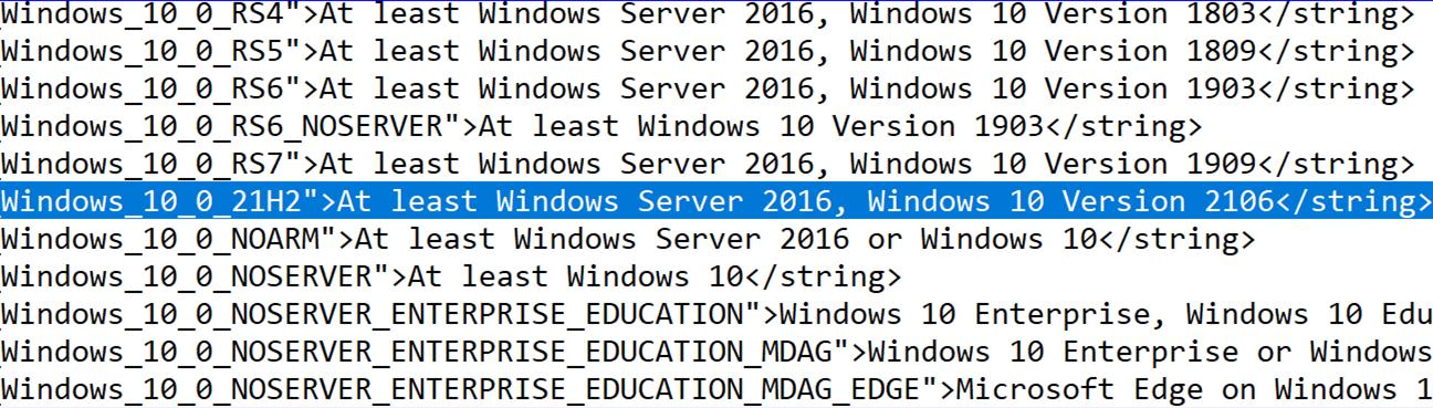 明年春季(?)的新版本名称是Windows 10 Version 2106版而非2103版