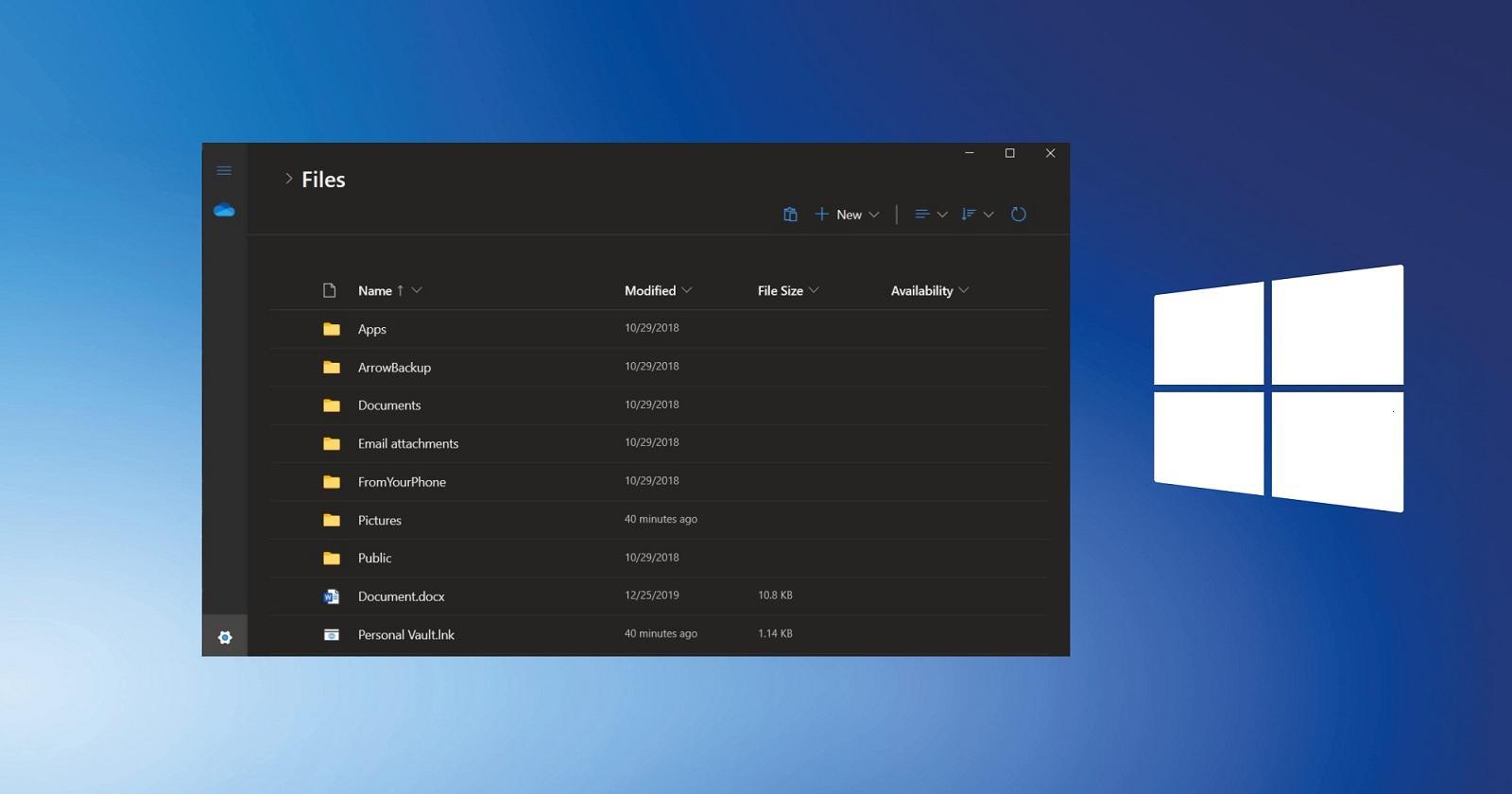 全新设计的文件资源管理器将在Windows 10X RTM版里预装启用
