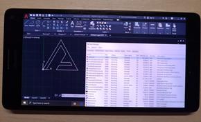 Lumia 950XL通过WoA项目已经可以在模拟器里运行x64桌面软件