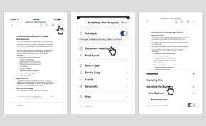 微软更新安卓和iOS版Word智能导航 可自动提取标题方便用户跳转