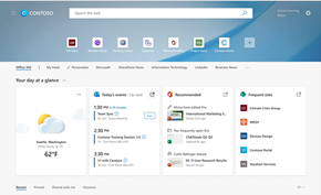 企业版专享:Microsoft Edge浏览器为企业用户提供新版新标签页