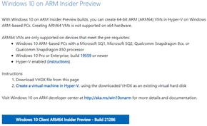 [下载] 微软推出Windows 10 Dev Build 21286版ISO镜像与VHDX镜像