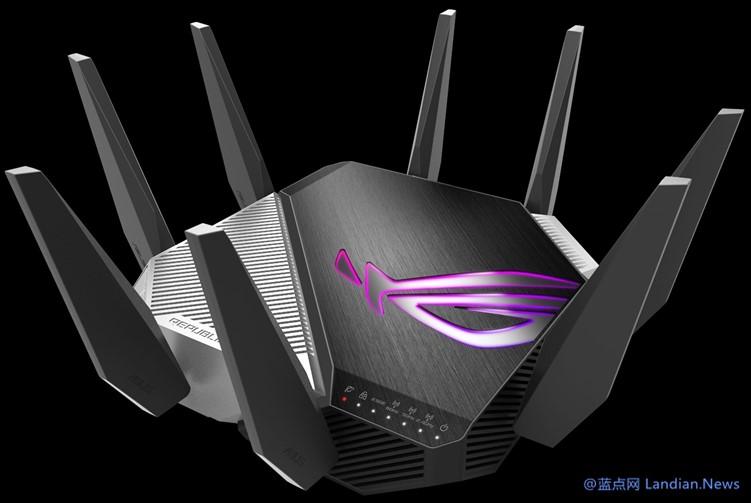 华硕推出全球首款WiFi 6E超高速路由器GT-AXE11000并发速度可达万兆