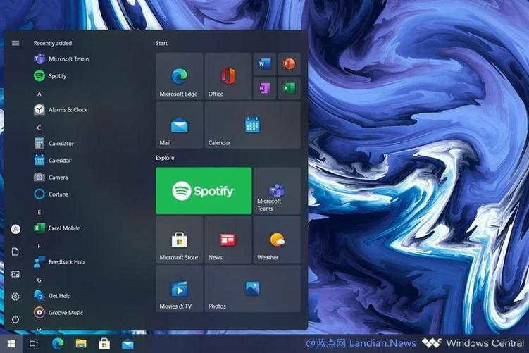 微软可能会推出浮动式开始菜单 同时将任务视图中的网页与应用分离