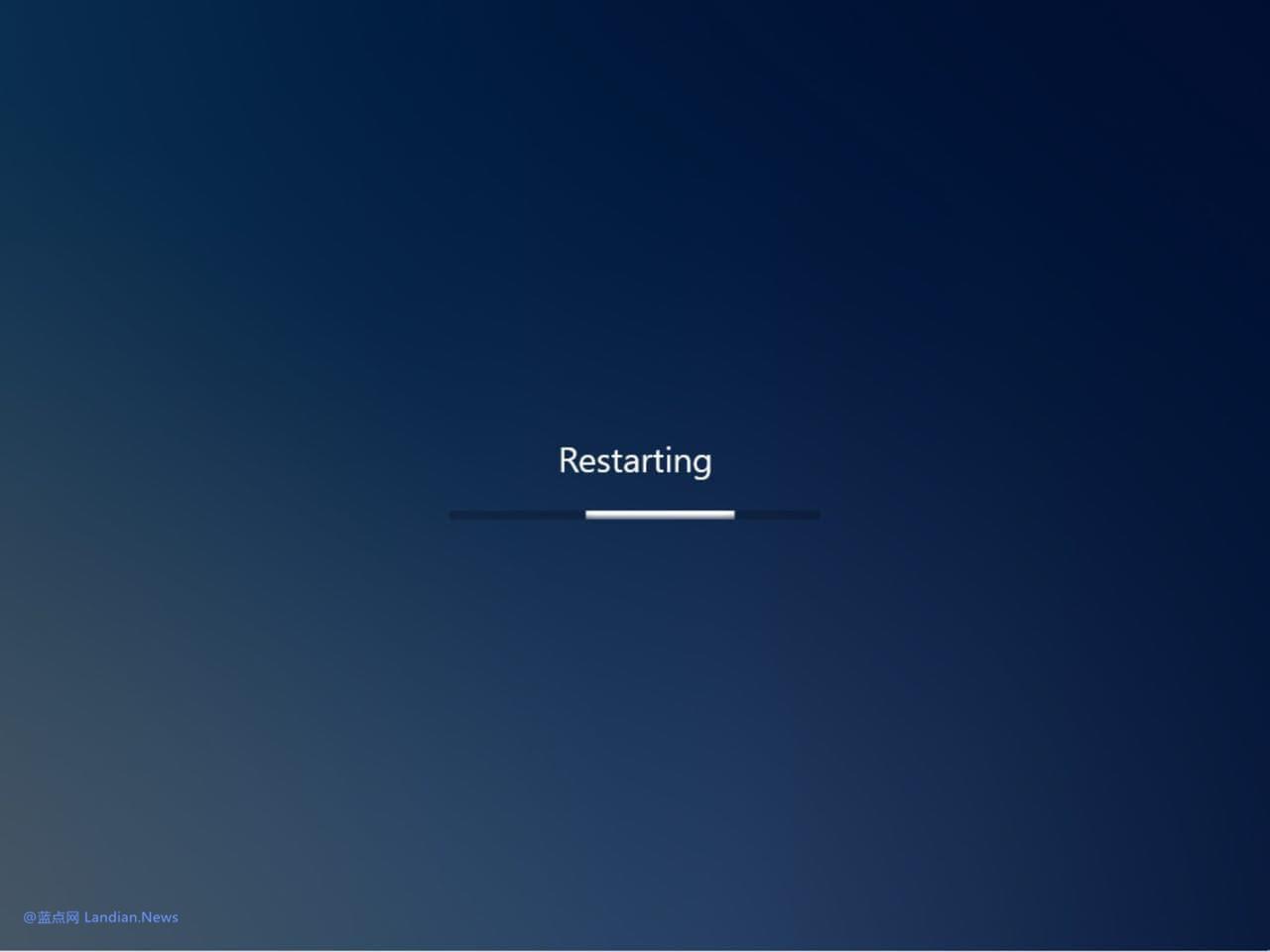 微软将Windows 10X版的启动界面部分特性移植到普通版中(测试版)