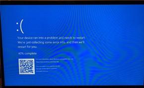 微软Windows 10文件系统再现蓝屏死机BUG 只需访问特殊路径秒蓝屏