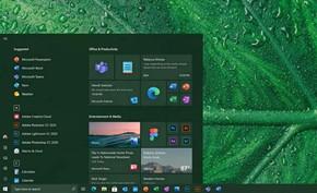 微软开始在Windows 10++预览版中测试更平滑的圆角样式开始菜单