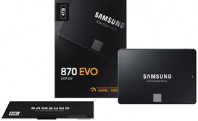 三星推出SATA接口的870 EVO固态硬盘 读写速度更快价格也更便宜