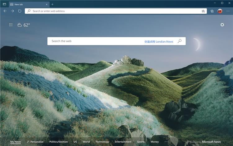 微软浏览器商店开始提供主题文件 不再需要前往谷歌商店下载主题