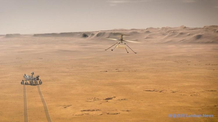 毅力号火星探测器即将释放机智号火星直升机 预计将在下月开始试飞