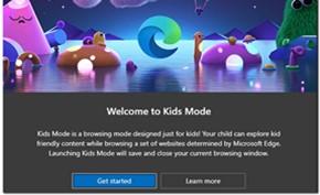 微软Microsoft Edge新增儿童模式 提供非常丰富的功能和隐私保护