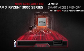 AMD宣布智能显存访问功能扩展到更多RYZEN 3000处理器上用来提高性能