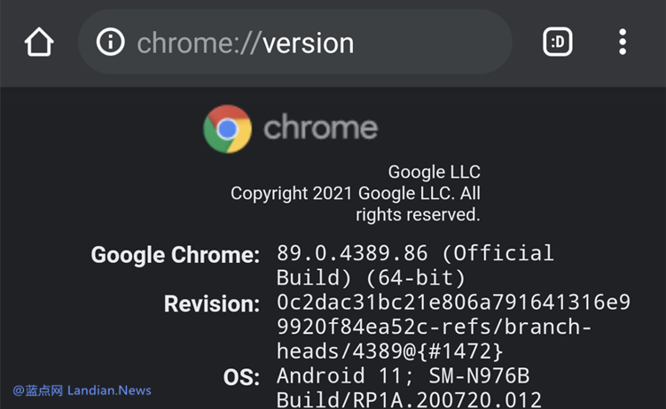 64位谷歌浏览器安卓版终于正式发布 但仅支持Android 10+和8GB+内存