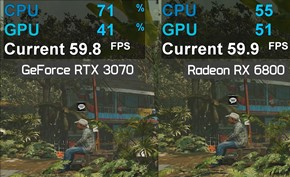 测试显示英伟达RTX30系安培显卡性能可能会因为CPU瓶颈而降低
