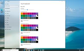 微软为Windows 10带来全新的触控键盘个性化 可以自定义各种配色和边框