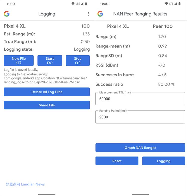 谷歌推出邻居感知网络(NAN)示例应用 可用于检测手机之间的大约距离-第1张