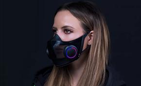 没有什么是不能RGB的:雷蛇计划量产N95过滤级别的HAZEL概念口罩