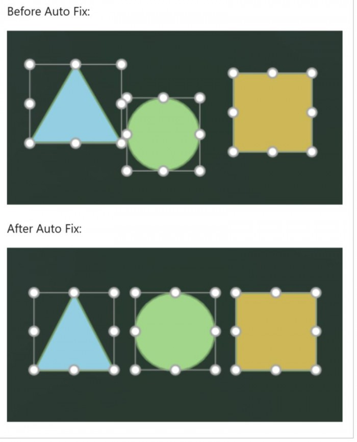网页版PowerPoint增加自动对齐功能 可将页面内的制定元素自动对齐-第1张