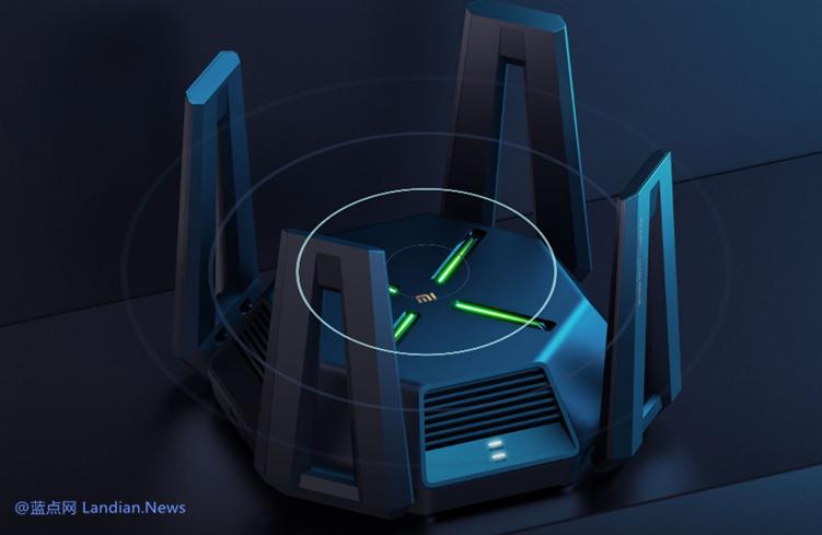 小米推出新款旗舰路由器AX9000 提供2.5G网口和游戏频段高速减低干扰