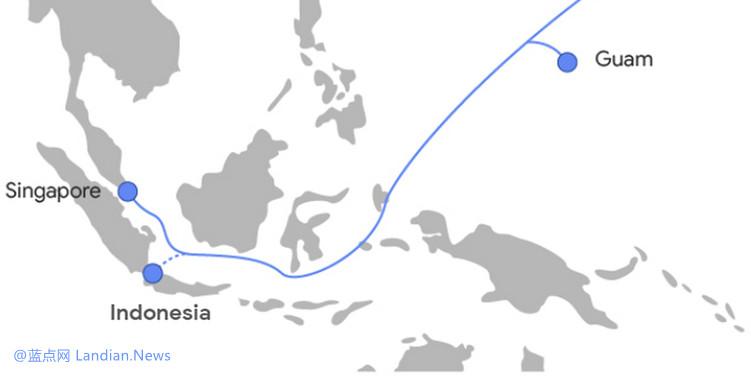 脸书将参与谷歌主导的从美国西海岸直连新加坡的跨太平洋海底光缆