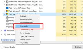 微软改进Windows 10任务管理器 现在可以单独限制特定进程资源使用