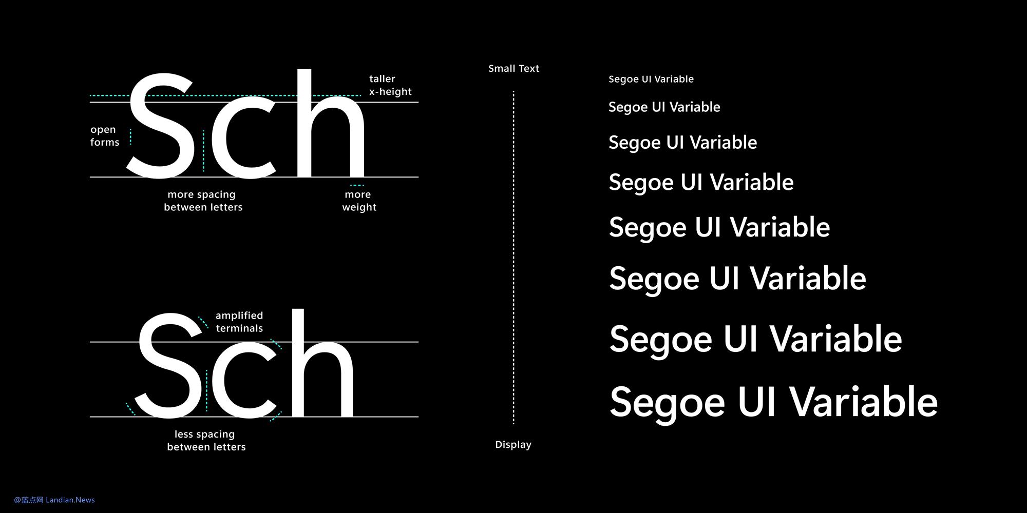 微软推出Windows 10 Dev Build 21376版 引入重新设计的Segoe UI字体