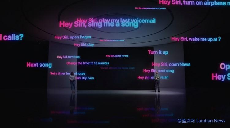 为彻底解决Siri带来的隐私问题苹果宣布将在本地处理数据不再录音上传