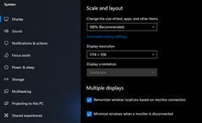 微软在Windows 11里改进多显示器体验 避免断开连接时窗口进行堆叠