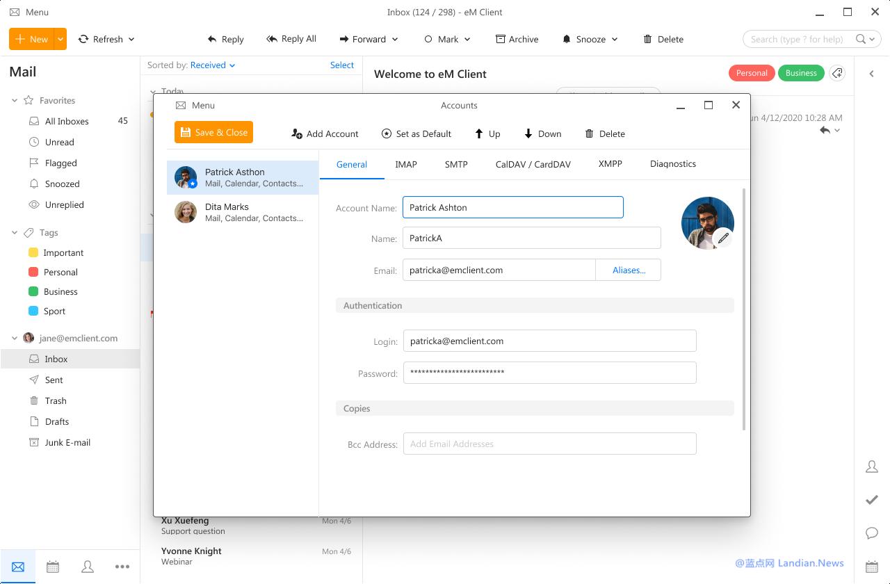 [正版软件] eMClient 更简洁高效好用的邮件客户端 促销价低至168元起