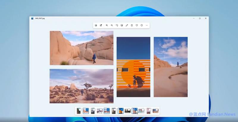 微软展示Windows 11照片应用的新设计 虽然体验所有变化但没有新功能-第1张