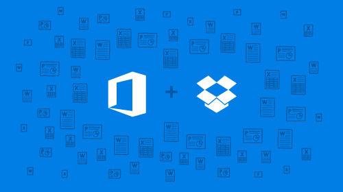 Dropbox与Office联姻:将提供存储和在线编辑等功能