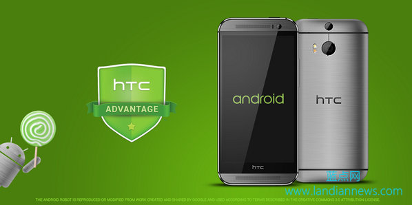 HTC将在90天内为HTC One系列推送Android 5.0