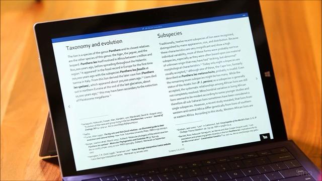 微软展示专为触控优化的 Metro Office for Windows 10